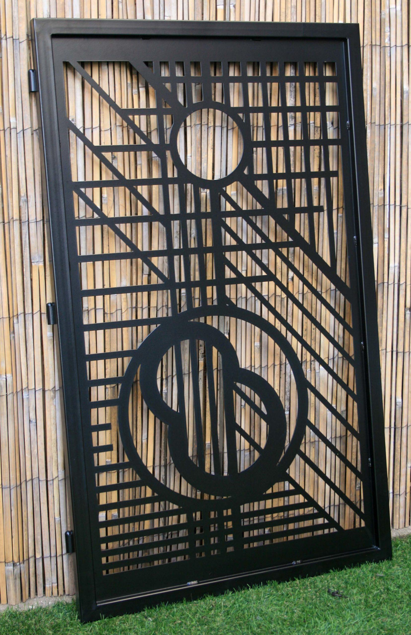 Artistic Metal Gate - Decorative Steel - FLW Design ...