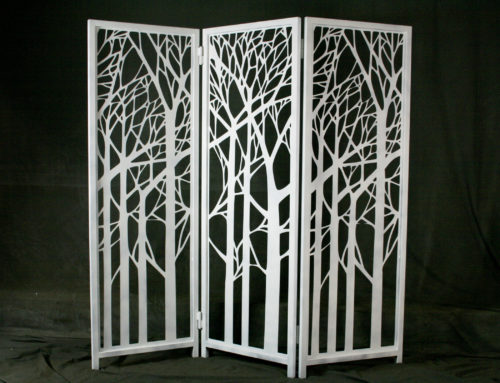 Decorative Steel Room Dividers!