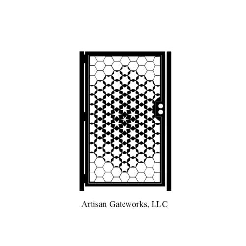 geometric gate